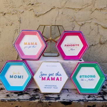 """Mom"" Trinket Trays"