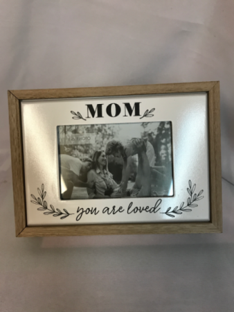 Mom you are loved picture frame