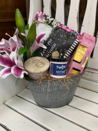 Mom You Deserve It! Gift basket