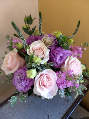 Pastel Passion vase arrangement in Pawling, NY | PARRINO'S FLORIST