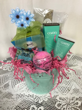Mom You're The Bomb Pamper Her Basket