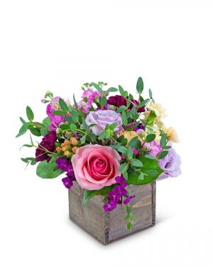 Moment of Love Flower Arrangement in Nevada, IA | Flower Bed