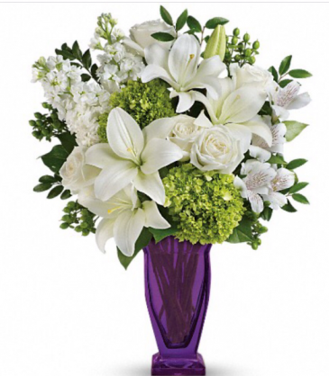 Moments of Majesty Bouquet  Vase