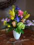 Momma' s touch Vase arrangement