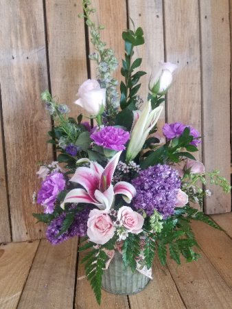 Momma's purple passion  Fresh arrangement