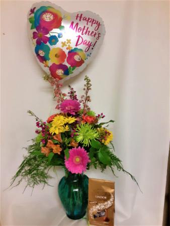 Momosa Trifecta Floral Arrangement
