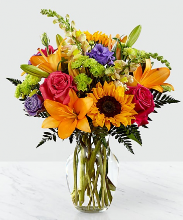 Mom's bright bold Only at Mom & Pops Flower Shop