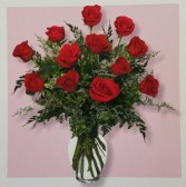 Mom's Classic Dozen Medium Roses Special Exclusively at Mom & Pops