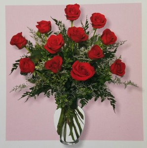 Mom's Classic Dozen Medium Roses Call (805)653-6929 for more information. in Ventura, CA | Mom And Pop Flower Shop