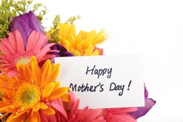 Mom's Day Bouquet Vase arrangement