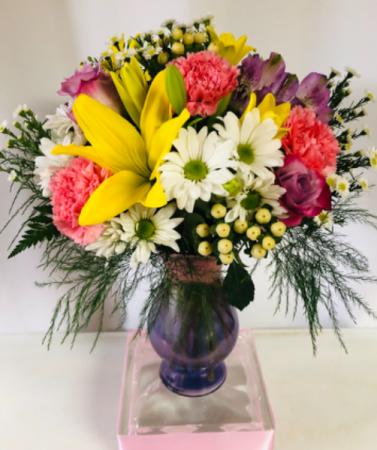 Mom's Day Flower Bouquet