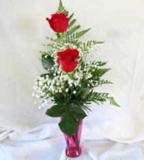 Mom's Double Rose Bud Vase Exclusively at Mom & Pops