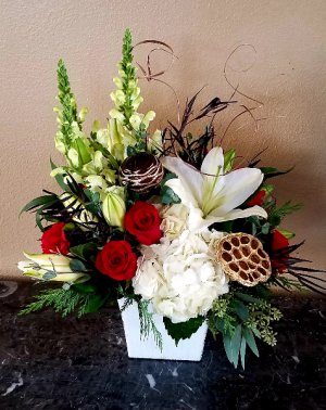 Mom's Enchanted Christmas Only at Mom & Pops Flower Shop