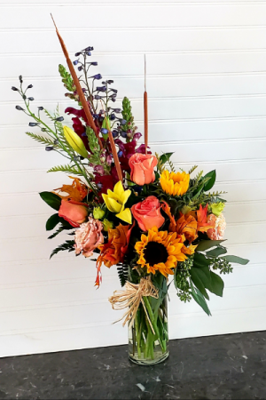 Mom's Fall Arrangement #1 EXCLUSIVELY AT MOM & POPS in Oxnard, CA | Mom and Pop Flower Shop