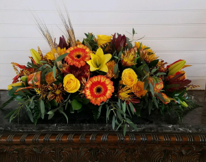 MOM'S FALL ARRANGEMENT #6 EXCLUSIVELY AT MOM & POPS in Ventura, CA | Mom And Pop Flower Shop