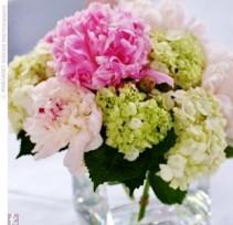 Everyone's Favorite Blooms Peony, Hydrangea, & Roses