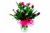 MOM'S FAVORITE TULIPS Spring Arrangement