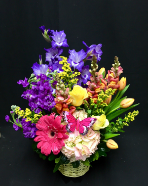 Vibrant Garden Spring in Midland, TX | Becky's Flowers