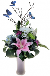 Moms Garden Vase Arrangement