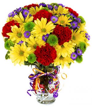 Mom's Happy Birthday Only at Mom & Pop Flower Shop in Oxnard, CA | Mom and Pop Flower Shop