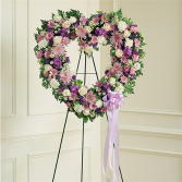 Mom's Lavender & White Open Heart For More Information Call: (805)653-6929