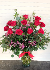 Mom's Long Stem Roses Exclusively at Mom & Pops