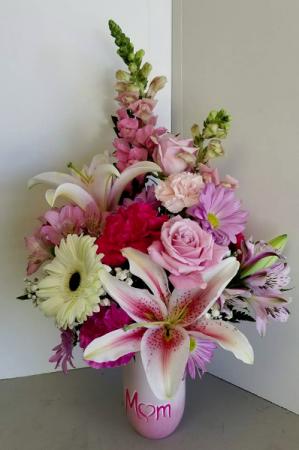 Mom's Mix Fresh Vase in Fulton, NY   DeVine Designs