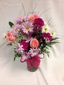 Mom's Perfect Day Fresh Flower Arrangement