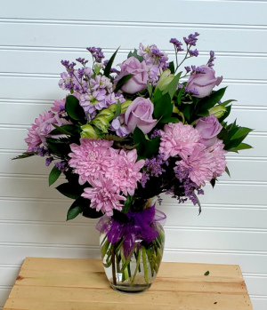 MOM'S PINK & PURPLES Exclusively at Mom & Pops in Oxnard, CA | Mom and Pop Flower Shop