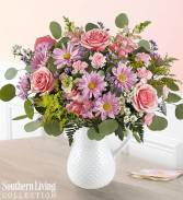 Your Special Day Bouquet In Hobnail Pitcher