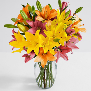 Mom's Summer Lilies GREATN PRICE! Exclusively at Mom & Pops in Oxnard, CA | Mom and Pop Flower Shop