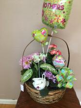 moms tea garden basket garden