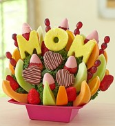Mom's The Best Fruit Bouquet Edible Fruit Boquet For Mom