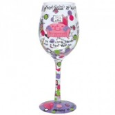 Mom's Time Out Lolita Glassware