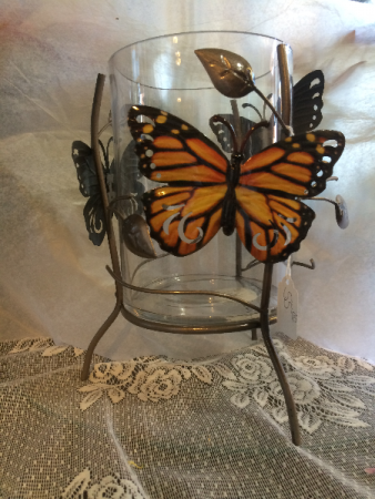 Monarch Butterfly Metal Giftware