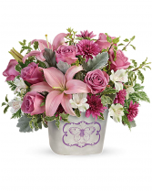 Monarch Garden Bouquet Floral Arrangement