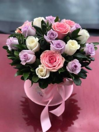 Mondial' Flower box arrangement