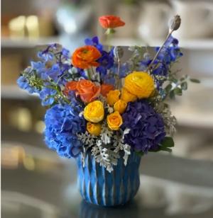 Monet Vased in Charlotte, NC | Plush Blooms of Charlotte