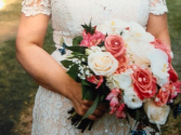 monika bridal bouquet