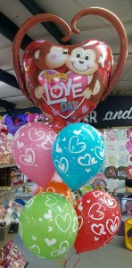 MONKEY LOVE BOUQUET Balloons