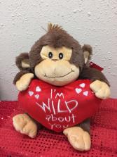 Monkey Love Plush
