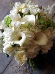 Luxe Monochrome  Handtied Bouquet