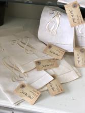 Monogrammed Tea Towel Gift