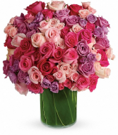 Monster Rose bouquet... Over 4 dozen blossoms!