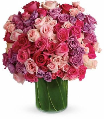 Monster Rose bouquet... Over 4 dozen blossoms!