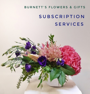 MONTHLY FLOWER SUBSCRIPTION  3 month Subscription  in Kelowna, BC | Burnett's Florist