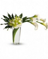Moondance  Calla Bouquet