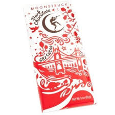 Moonstruck Chocolate Dark Chocolate Bar