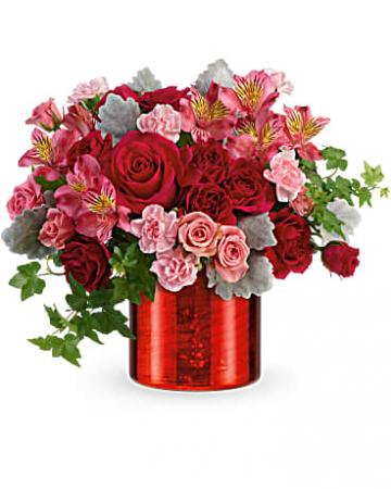 Moonstruck Mercury  Vase Arrangement
