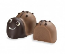 Moonstruck Milk Chocolate Ganache Ladybug Truffle
